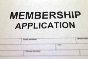 How to Format a Membership Form