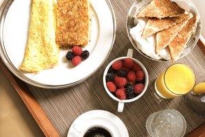 Información nutricional de la omelette de cuatro huevos