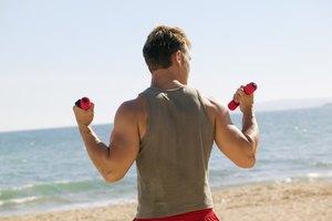 Cómo evitar las estrías por el levantamiento de pesas