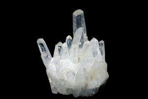 Properties of Clear Quartz Crystal