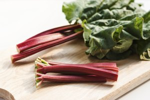 How to Eat Raw Rhubarb