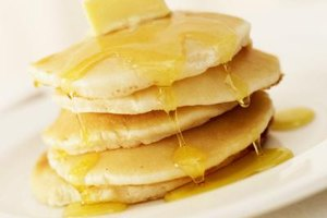 Homemade pancakes are a weekend breakfast favorite.