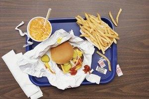 Buena alimentación vs. mala alimentación