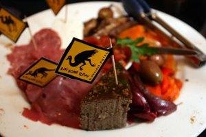 Find kangaroo alongside other exotic game like camel and emu at restaurants.
