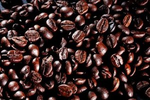 Coffee beans add extra taste and texture to baked goods.