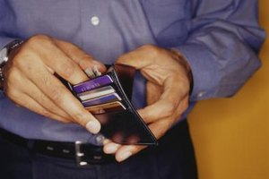 Use plastic cards to stretch pockets.