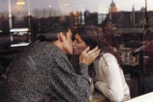 Let your chemistry and experience dictate what you say after a first kiss.