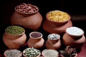A medley of spices, garam masala may include cardamom, cinnamon and cumin.