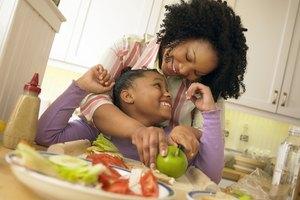 Los beneficios de comer alimentos saludables para los niños