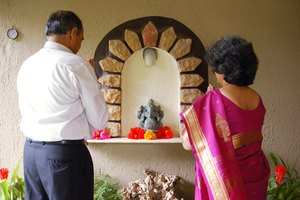 The Hindu Family Altar & Deities