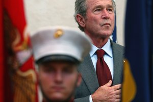Did Bush Ask Congress for a Declaration of War?