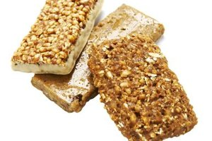 Use a dehydrator to make granola bars and other oat groat treats.