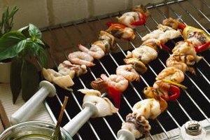 Plump, juicy shrimp go well on a grill.