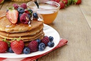 Instructions for Aunt Jemima's Pancake Mix