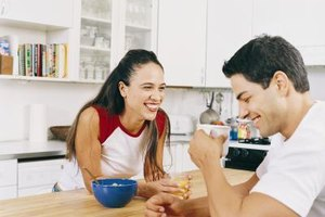 Be humorous and authentic when you list all of the ways your boyfriend makes you smile.