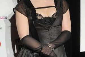 Actress Helena Bonham Carter could be the poster celebrity for steampunk style.