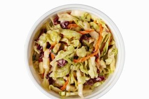 Coleslaw is a perfect side dish with pulled pork.