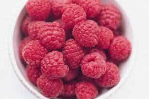 Flavor rice milk ice cream with fresh fruit, such as raspberries.