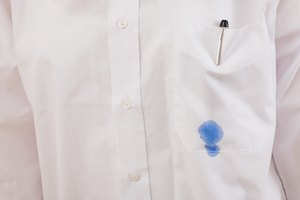 How to Take Pen Stains Out of a White Sweater