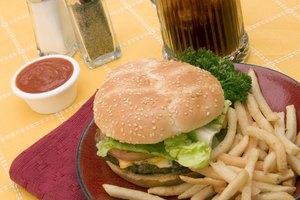 ¿Cuántas calorías hay en una hamburguesa con queso?