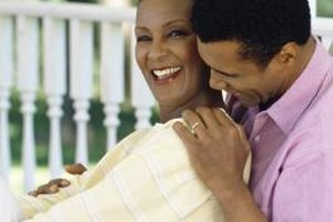 Flirting with your spouse can light a spark in your relationship.