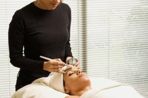 Sometimes facials include hand and foot treatments.