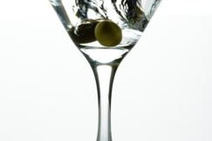 A dry martini contains less vermouth than a classic one.