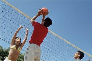 ¿De qué está hecha una pelota de voleibol?