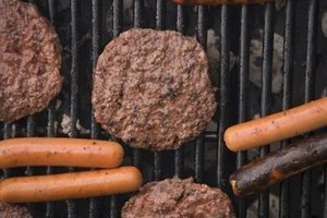 Frozen 1/2-inch-thick beef patties cook more quickly and evenly than thicker patties.
