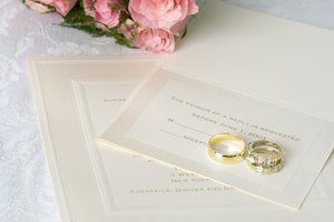 Wedding Invitation Etiquette for Presiding Minister & Family