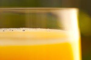 Cómo hacer jugo de naranja con piel