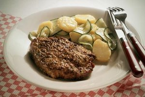 Pork chops are versatile and can be combined with many different foods.