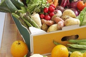 Una lista de frutas y verduras con alto contenido de electrolitos