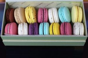 "French-style ""macarons"" and simpler macaroons both rely on beaten egg whites."