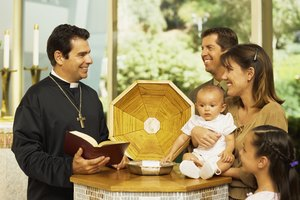 Clothing Rules for Baptism in Catholic Churches