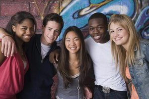 Healthy friendships are important for a teenager's social development.