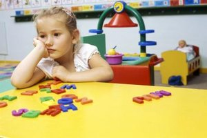 Preschoolers may suffer the most after their parents divorce.