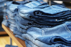 How to Make Raw Jeans Less Stiff