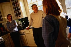 Adult children often have difficulty with their parents' divorce.