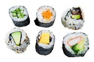 Sushi con vinagre de arroz y gastritis