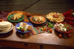 When you're in a hurry, throw together a taco or burrito bar for a fun, easy dinner.
