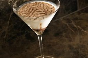 Creme de cacoa adds a distinctive chocolate flavor to mixed drinks.