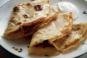 How to Make Crepes Out of Pancake Batter