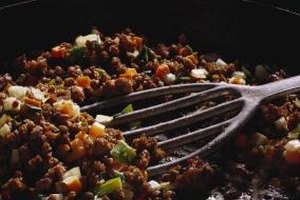 Ground venison can substitute for ground beef in most dishes.