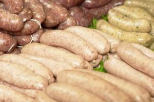 Sausages benefit from gentle cooking.