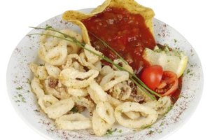 Cooking time is crucial to getting calamari tender.