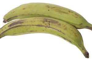 Valores nutricionales de las bananas y los plátanos