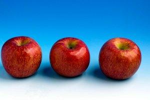 Carbohidratos contenidos en una manzana