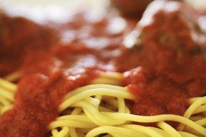 Calorías que contiene el espagueti con salsa de carne