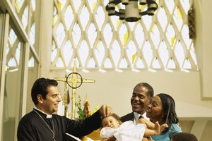 What Is the Contemporary Culture Meaning of a Baptism Ceremony?
